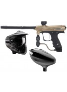 2011 Proto Rail PMR Paintball Gun Combo Kit - Dust Tan