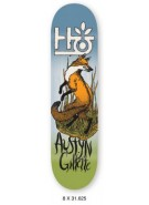 Habitat Terrene AG - Blue/Green/Orange - 8 - Skateboard Deck