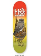 Habitat Terrene DA - Red/Yellow - 8.25 - Skateboard Deck