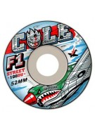 Spitfire Wheels F1 Cole Warhawk White - 54mm - Skateboard Wheels