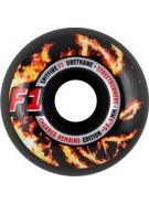 Spitfire Wheels F1 Streetburners Charred - 55.5mm - Skateboard Wheels