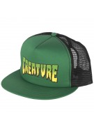 Creature Logo Trucker Mesh - Forest/Black - Mens Hat