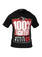 Fightco MMA 100% Fighter T-Shirt - Black