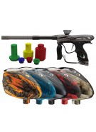 DYE NT11 Paintball Gun w/ Rotor Loader - Graphite Black