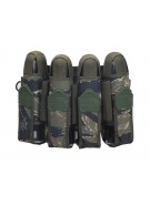 2012 Valken V-Tac Sierra Paintball Harness 4+7 - Tiger Stripe