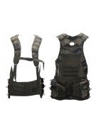 2012 Valken V-Tac Bravo Paintball Vest - Tiger Stripe