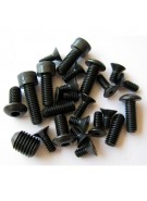 Violent Series Blackout Screw Kit - EGO 5/6 & Etek 1/2