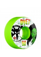 Bones STF Pro Dyet Rasta - 52mm - Green - Skateboard Wheels