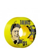 Bones Aaron Homoki Jawz - Yellow - 51mm - 83B - Skateboard Wheels