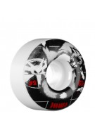 Bones Aaron Homoki Licker - 52mm - 83B - White - Skateboard Wheels
