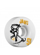 Bones STF Pro Homoki Numbers - 51mm - White - Skateboard Wheels