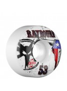 Bones Ben Raybourn Pride - 53mm - 83B - White - Skateboard Wheels