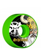 Bones STF Pro Schroeder Odin - 56mm - Green - Skateboard Wheels