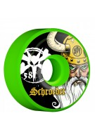 Bones STF Pro Schroeder Odin - 58mm - Green - Skateboard Wheels