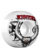 Bones Schroeder Viking SPF - 60mm - 84B - White - Skateboard Wheels