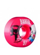 Bones SFT Bartie Clown - 51mm - 83B - Pink - Skateboard Wheels