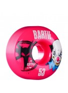 Bones SFT Bartie Clown - 53mm - 83B - Pink - Skateboard Wheels