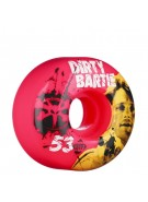 Bones Chad Bartie Colt 45 - 53mm - 83B - Pink - Skateboard Wheels