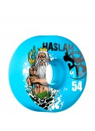 Bones STF Pro Haslam Poseidon - 54mm - Blue - Skateboard Wheels
