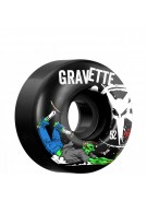 Bones STF Pro Gravette Zombie - 52mm - Black - Skateboard Wheels