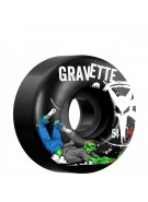 Bones STF Pro Gravette Zombie - 54mm - Black - Skateboard Wheels
