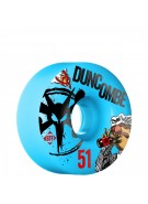 Bones STF Pro Duncombe Bork - 51mm - Blue - Skateboard Wheels