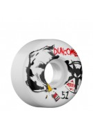 Bones Street Tech Formula Duncombe Badger - 51mm - White - Skateboard Wheels
