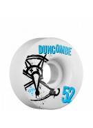 Bones STF Pro Duncombe Numbers - 52mm - White - Skateboard Wheels