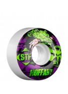 Bones Street Tech Formula Hoffart Gator - 52mm - White - Skateboard Wheels
