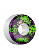 Bones Street Tech Formula Hoffart Gator - 54mm - White - Skateboard Wheels