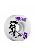 Bones STF Pro Hoffart Numbers - 51mm - White - Skateboard Wheels