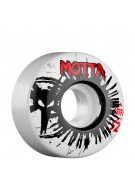 Bones Street Tech Formula Motta Spokes - 52mm - White - Skateboard Wheels