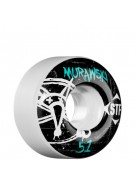 Bones Street Tech Formula Murawski Oh Gee - 51mm White - Skateboard Wheels