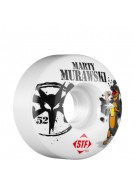 Bones Street Tech Formuka Murawski USA - 52mm - White - Skateboard Wheels