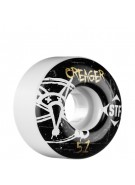 Bones Street Tech Formula Creager Oh Gee - 51mm - White - Skateboard Wheels