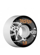Bones Street Tech Formula Decenzo Oh Gee - 53mm - White - Skateboard Wheels