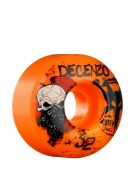 Bones Street Tech Formula Decenzo Wicked - 52mm - Orange - Skateboard Wheels