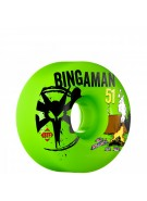 Bones STF Pro Bingaman Camp - 51mm - Green - Skateboard Wheels