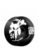 Bones O.G. 100's - 51mm - Black - Skateboard Wheels