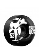 Bones O.G. 100's - 53mm - Black - Skateboard Wheels