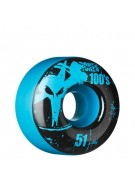 Bones O.G. Formula 100 - 51mm - Blue - Skateboard Wheels