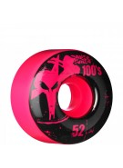 Bones O.G. 100's - 52mm - Pink - Skateboard Wheels