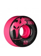 Bones O.G. Formula 100 - 53mm - Pink - Skateboard Wheels