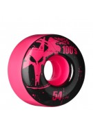 Bones O.G. Formula 100 - 54mm - Pink - Skateboard Wheels