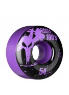 Bones O.G. Formula 100 - 54mm - Purple - Skateboard Wheels