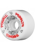 Powell Peralta G Bones - 64mm - White - Skateboard Wheels