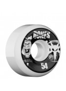 Bones Skate Park Formula Coach - 54mm - White - Skateboard Wheels