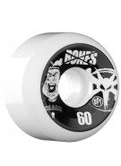 Bones Skate Park Formula Coach - 60mm - White - Skateboard Wheels