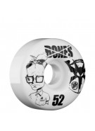 Bones Skate Park Formula Twerp - 52mm - White - Skateboard Wheels