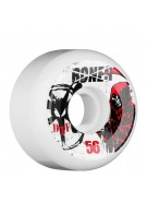 Bones Ditchtech Formula Reaper - 56mm - White - Skateboard Wheels